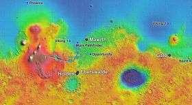 Site List Narrows For NASA's Next Mars Landing