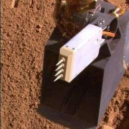 Spiky Probe on NASA Mars Lander Raises Vapor Quandary