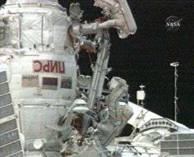 Station Crew Begins Spacewalk to Retrieve Soyuz Pyro Bolt