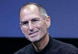Apple CEO Steve Jobs back at work few days a week (AP)