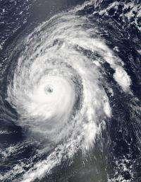 NASA's Aqua satellite gets 2 views of category 4 Hurricane Bill