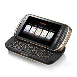 New Giorgio Armani Samsung smartphone
