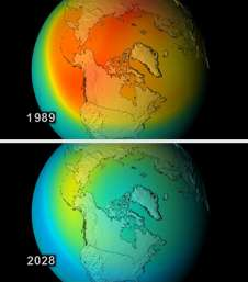 New simulation shows consequences of a world without Earth's natural sunscreen (w/Video)