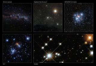 Opening up a colorful cosmic jewel box