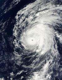 Papahanaumokuakea National Monument facing Hurricane Neki
