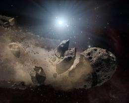Solar systems around dead Suns?