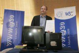 Tim Berners-Lee, inventor of the world wide web