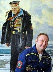US astronaut Michael Fincke