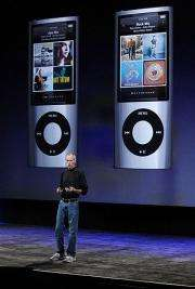 Apple CEO Steve Jobs discusses the new iPod Nano
