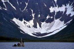 Arctic lakes help scientists understand climate change