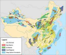 Carbon capture shows major potential in China