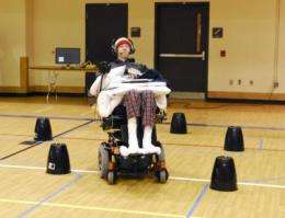 Clinical trial shows quadriplegics can operate powered wheelchair with tongue drive system