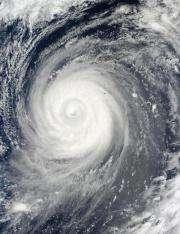 Typhoon Choi-Wan swinging by Japan on weekend