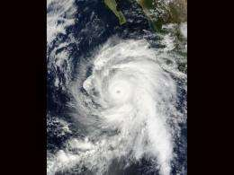 NASA Satellites and Baja California on watch as Hurricane Rick approaches