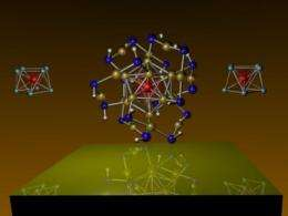 Scientists discover magnetic superatoms