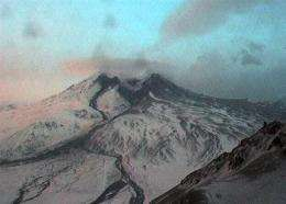 2 small eruptions occur at Alaska volcano (AP)