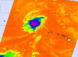Tropical Depression Neki nulled by cool waters and wind shear