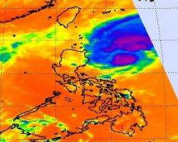 NASA satellite confirms another tropical cyclone may impact the Philippines