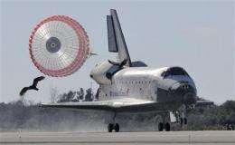 Space shuttle Atlantis, 7 astronauts back on Earth (AP)