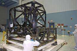 James Webb Space Telescope Begins to Take Shape at Goddard