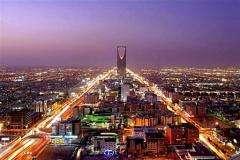 A general view shows the Saudi capital Riyadh