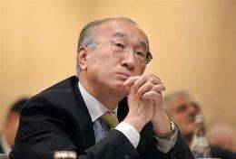 International Energy Agency chief Nobuo Tanaka