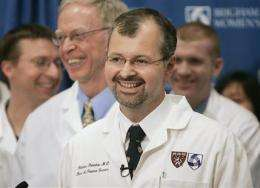 7th surgery shows face transplants gaining ground (AP)