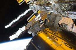 Astronauts relish space's international food court (AP)