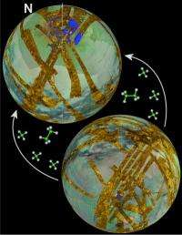 Caltech scientists explain puzzling lake asymmetry on Titan