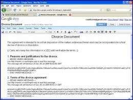Vanish + Google Docs