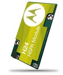Motorola Introduces Series of HSPA M2M Wireless Modules