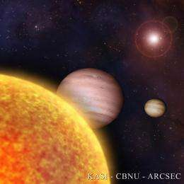 Huge new planet tells of game of planetary billiards