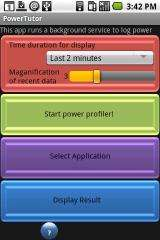 Smartphone app illuminates power consumption