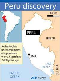 A joint Japanese-Peruvian archeological mission has uncovered the