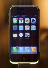 Apple introduced its iPhone in 2007