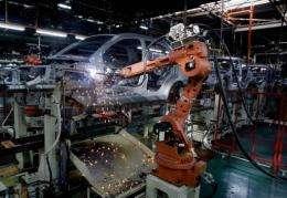 A Proton assembly line near Kuala Lumpur