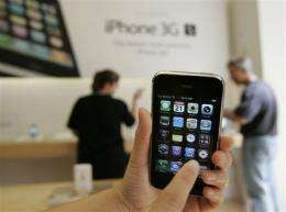 AT&T to expand Internet calling services on iPhone (AP)