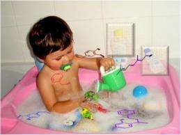 Baby bathwater contains fragrance allergens