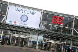Bella Center in Copenhagen, the venue of upcoming COP15 Climate Summit