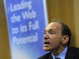 British software genius Tim Berners-Lee