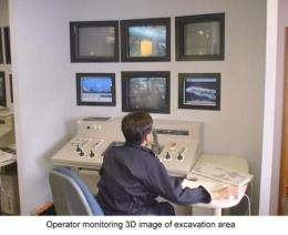 Caisson 3D Modeling Command Center