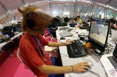 Campus Party, the world's biggest on-line electronic entertainment festival in Valencia