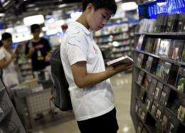 China to appeal WTO ruling on book, movie imports (AP)