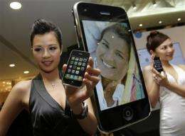 Chinese carrier in talks with Apple on iPhone (AP)