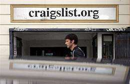 Craigslist announced Wednesday that it had filed suit against a state attorney general