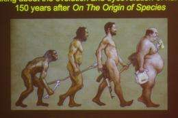 Culture skews human evolution