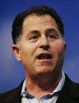 Dell fiscal 1Q profit falls 63 percent (AP)