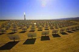Desert clash in West over solar potential, water (AP)