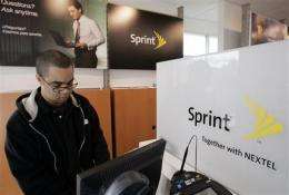 Despite prepaid lift, Sprint Nextel loss widens (AP)