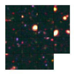 'Dropouts' pinpoint earliest galaxies